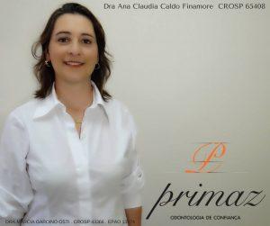 dra. Ana Cláudia Caldo ,CROSP 65408